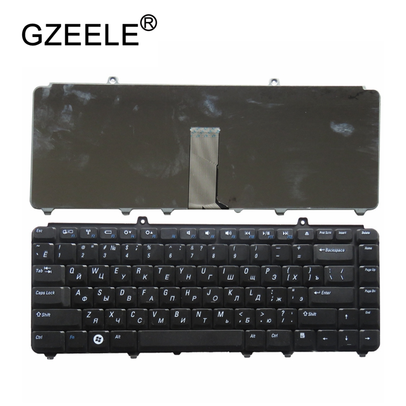 GZEELE RUSSIAN Laptop keyboard FOR Dell inspiron 1400 1520 1521 1525 1526 1540 1545 1420 1500 XPS M1330 M1530 NK750 PP29L M1550