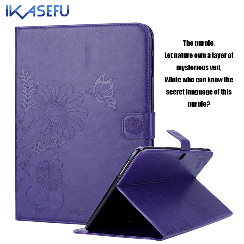 IKASEFU Tablet Case For Samsung Galaxy Tab 4 10.1 inch Filp Stand PU leather Coque Fundas for Samsung Tab 4 T530 Tpu back Cover police pl 12893jssb 04