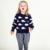 Ballena bebé Suéteres de 2016 Primavera Otoño Niños Niñas Niño Suéteres Jersey 100% Ropa de Algodón de Punto Suéter Animal BOBO Estilo