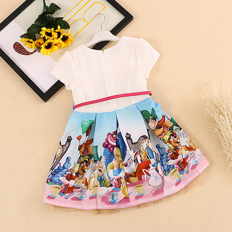 Bongawan Baby Girls Dress 2018 Marca Verano Estilo Casual Snow White - Ropa de ninos - foto 2