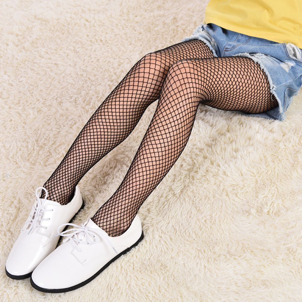 Show details for 1Pair 2018 Summer New Hot Sale Fashion Kids Baby Girl Net Pattern Pantyhose Tights Stockings Mesh Fishnet 3 Styles