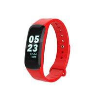 Abrray Mulheres/Homem Da Aptidão Relógio Do Esporte Do Bluetooth Relógios Tela Colorida de Fitness Rastreador de Chamadas SMS Lembre Relógio de Pulso Monitor de Sono|Relógios esportivos| |  -