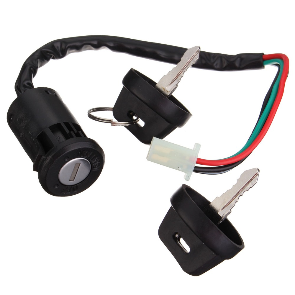 Aliexpress.com : Buy New 4 Wires 2 Ignition Keys Switch 50 70 90 110 125cc  Fit Chinese ATV Go Kart from Reliable ignition key switch suppliers on  Mofaner ...