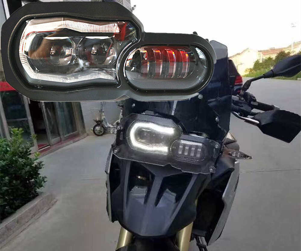 For BMW Accessories Motorcycle Protector Cover Bike LED Fog Light Auxiliary Driving Lamp for BMW K1600 R1100 R1200GS ADV F800GS front head light driving aux lights fog lamp assembly for bmw r1200gs lc adv f800 f750 f650 r1150 gs motorcycle accessories