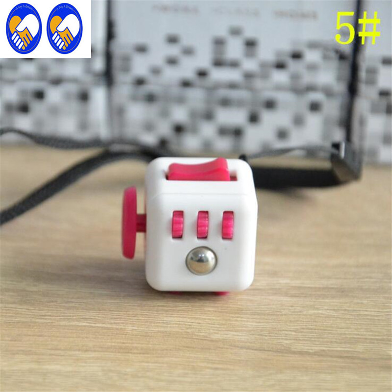 A Toy A Dream Mini 12 Colors Fidget Cube Desk Toy Magic Cube 2017 New Fidgetes