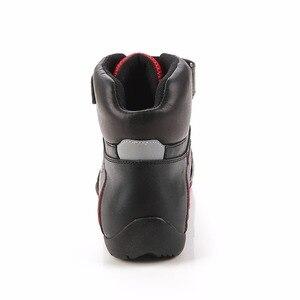 Image 4 - ARCX yarış Moto ayakkabı motosiklet botları dönen toka nefes yaz sokak motorsiklet Scooter Motocross Boot ayakkabı