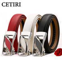 CETIRI ceintures pour femmes en cuir grande taille Designer marque haute qualité femmes ceintures 100 cm métal boucle filles ceinture accessoires