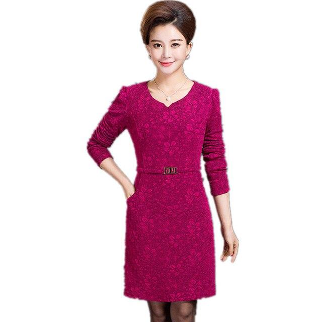 Aliexpress.com: Comprar Clobee 2017 mujeres otoño jurken dentelle ...