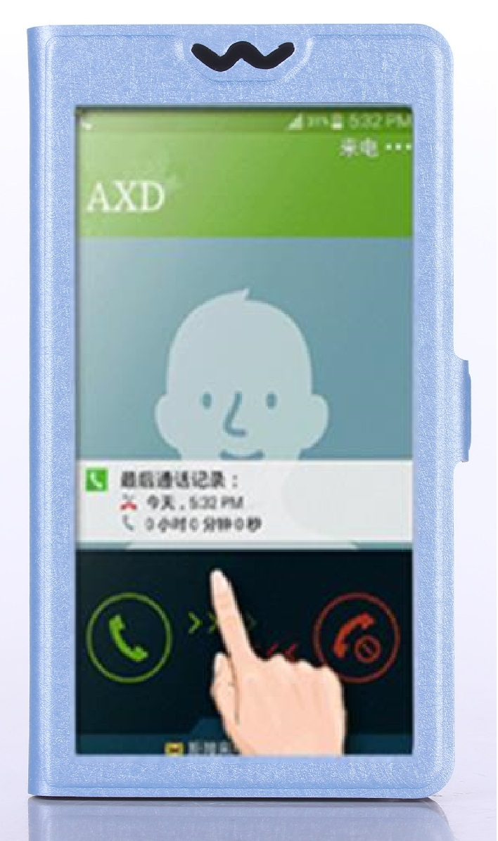 Fenêtres pleine Vue PU Cuir Stand Cas de Téléphone pour Philips Xenium i908 w8555 w3500 De Luxe Flip Couverture pour Philips Xenium 526 Lte