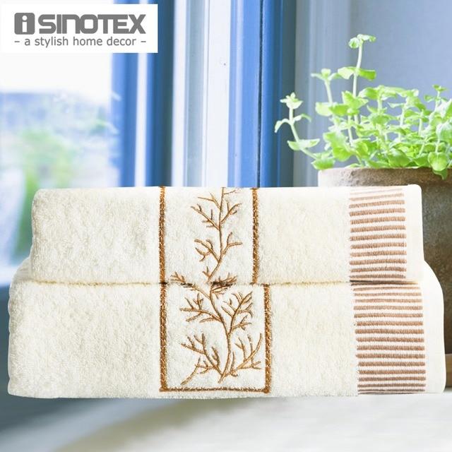 Handkerchief 30x50cm Bath Towel 65x135cm Set 100 Cotton 2pcs