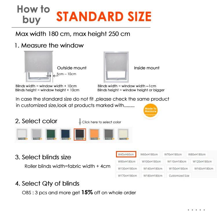 standard size  BO