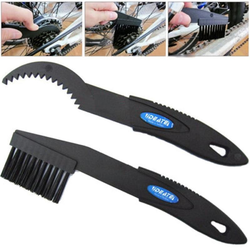 Bicycle MTB BMX Folding Bike Chain Crankset Cleaning font b Tool b font Brush Set Kit