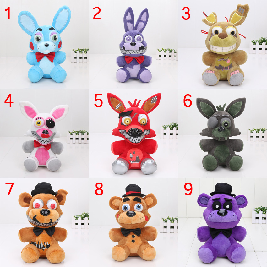 45pcs 25cm FNAF Five Nights At Freddy's Funtime Nightmare