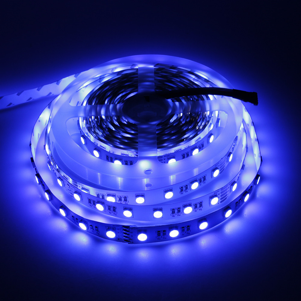 Led Strip Light DC24V RGBW 4 colors in One SMD 5050 Flexible LED strip Non-waterproof safe ribbon light 5M/roll 300Leds