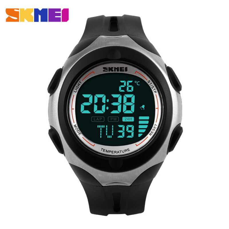 Luruxy SKMEI Brand Outdoor Sports Watches Men Women Digital Watch Multifunction Temperature Waterproof Casual Wrist watch