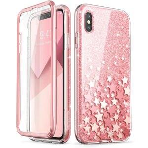 Image 3 - Per iPhone X Xs Caso 5.8 pollici I BLASON Cosmo Serie Full Body Shinning di Scintillio Marmo Cassa Del Respingente CON Costruito in Protezione Dello Schermo