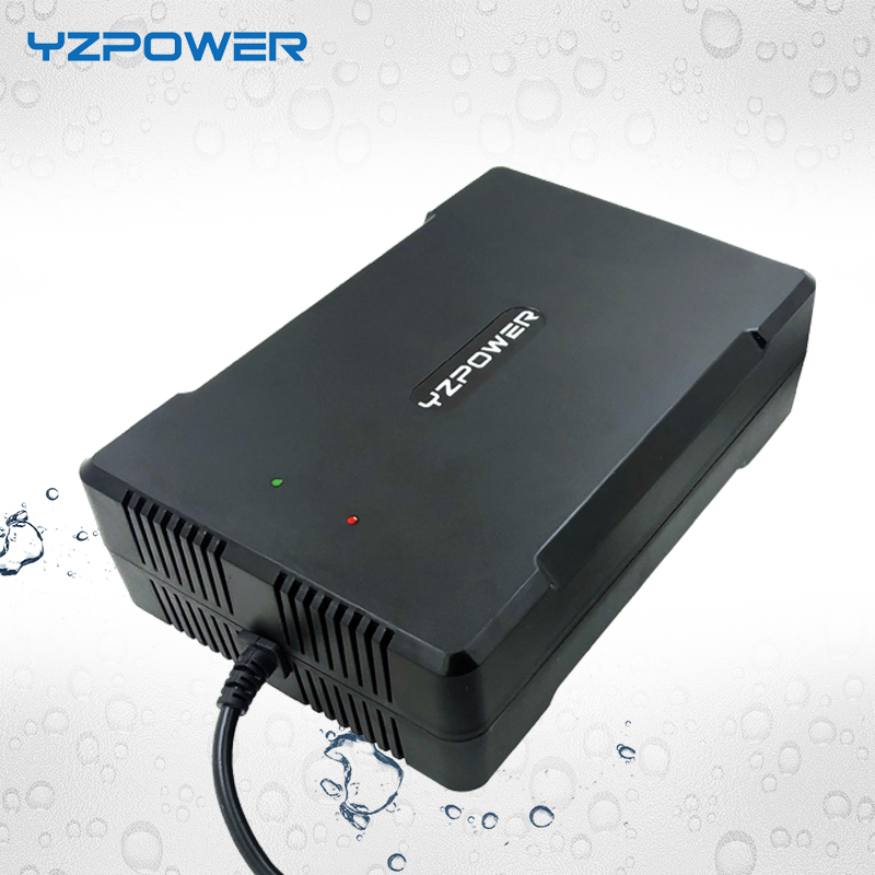 YZPOWER 58.8V 5A New Arrival Waterproof lithium Battery Charger Adapter For 48V(51.8V) Ebike Chargeur Pile-in Chargers from Consumer Electronics    1