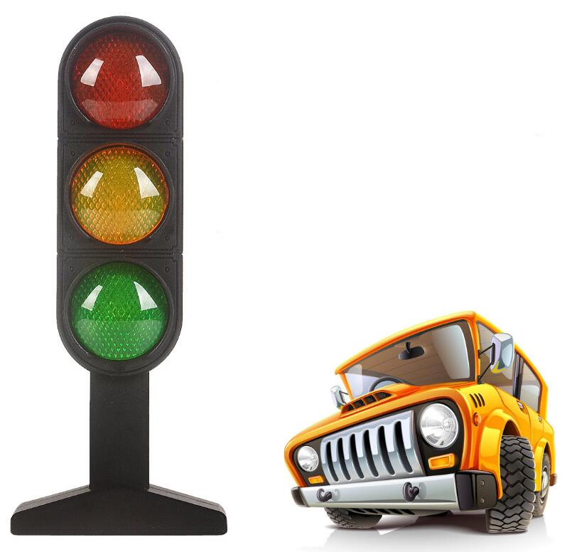 Traffic Lights Road Signal Model Scene Teaching Education Learning Funny Gadgets Interesting Toys For Children Car Accessories