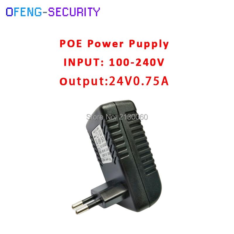 все цены на poe injector 24V0.75A POE Power Supply 24V0.75A Input 100-240V 50/60Hz Output 24V0.75A POE pin4/5(+),7/8(-) For CCTV IPC