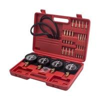 Universal Motorcycle Carb Carburetor Vacuum Synchronizer 4 Gauges Tool Balancer Gauge Kit