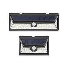 Bezprzewodowy czujnik ruchu PIR lampka nocna LED lampa zasilana energią słoneczną akumulator wodoodporny odkryty ogród ogród bezpieczeństwa do montażu na ścianie oświetlenie