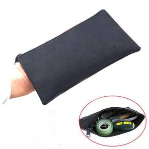 1PC Simple Style Canvas Tools Set Bag Zipper Storage Instrument Case Pouch Waterproof Chainsaws Lawn Mowers Tool Case Portable