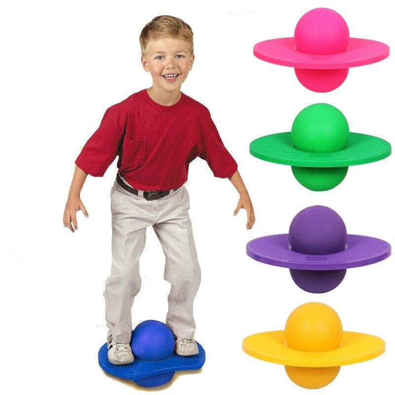 Spor Fitness Ekipmanları Şişme PVC patlamaya dayanıklı Top Zıplatma Çocuk Denge Egzersiz Atlama Topu Yetişkin Yoga Topu
