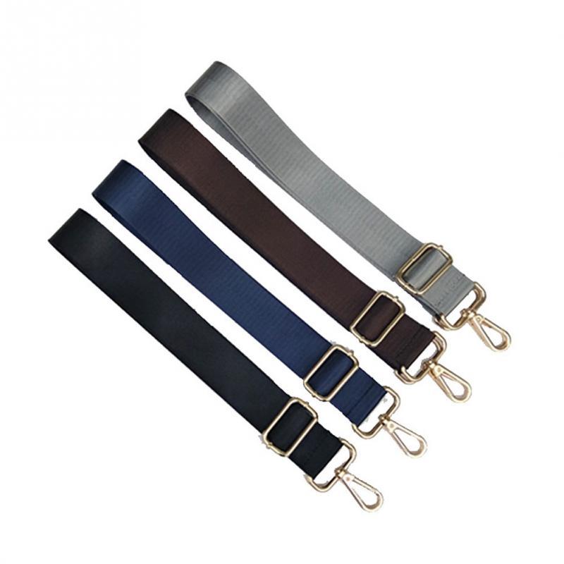 120CM Adjustable Replacement Shoulder Bag Strap Detachable Belt For Men Messenger Bags Black Long Straps Bag Accessories