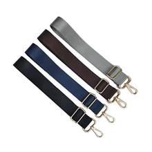 54b7a76a15666 120 CM Ayarlanabilir Yedek omuzdan askili çanta Askısı Çıkarılabilir Kemer  için Erkek postacı çantası Siyah Uzun