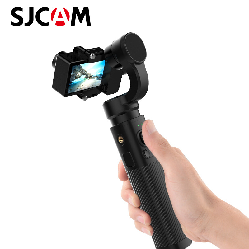 SJCAM Handheld GIMBAL SJ-Gimbal 3 Axis Stabilizer Bluetooth Control for SJ6 SJ7 SJ8 Pro/Plus/Air Action Camera for Yi CameraSJCAM Handheld GIMBAL SJ-Gimbal 3 Axis Stabilizer Bluetooth Control for SJ6 SJ7 SJ8 Pro/Plus/Air Action Camera for Yi Camera