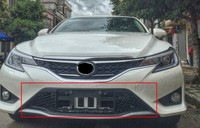 Black Plastics Front Grille Around Trim Racing Grills Trim For TOYOTA MARK X REIZ 2013 2014 2015