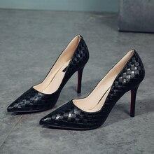 10CM Women White high heel