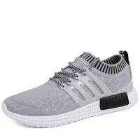 Calcetines respirables del verano de los nuevos hombres zapatos de tendencia de la moda conjuntos de tela neta de los zapatos golondrina zapato Para Caminar masculino