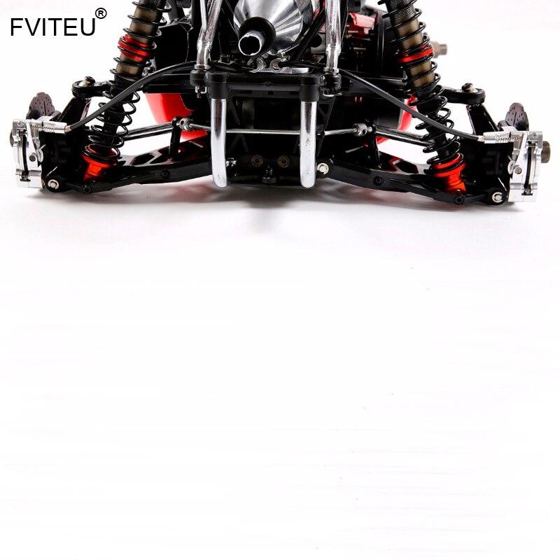 FVITEU металлические задние колеса провода тормозной кабель тормоза набор для 1/5 hpi rovan baja 5b SS 5sc king двигатель - 2