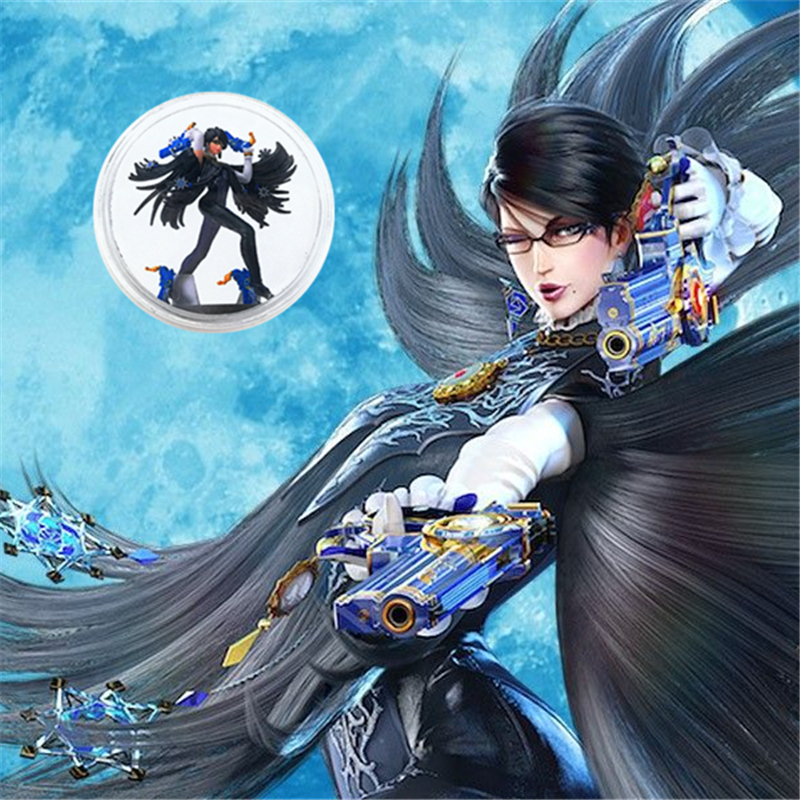 Fast Shipping Full Set 8Pcs/Lot <font><b>NFC</b></font> <font><b>Card</b></font> Of <font><b>Amiibo</b></font> <font><b>Card</b></font> Collection Coin Tag Ntag215 For Bayonetta 2 NS/Switch image