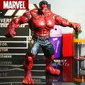"Red Hulk Action Figure The Avengers Hulk PVC Figure Collectible Model Toy  10"" 26cm"