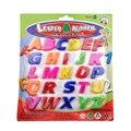 26 unids Matemáticas Juguete Colorido ABC Alfabeto Imán Del Cabrito Del Bebé de Aprendizaje Temprano Juguete Educativo