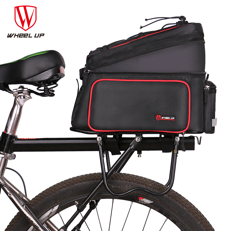 WHEEL UP Bicycle Pack Reflective MTB Road Bike Camel Bag Rainproof Foldable Large Capacity Bicycle Tail Bag Cycling Equipment 2017 bicycle camera bag bike front tube bag bicycle accessories black road mountain large capacity cycle bike backpack bike bag