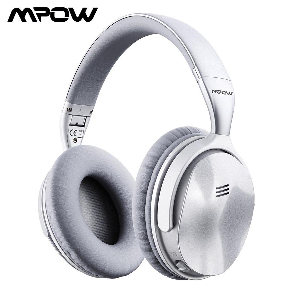 [Version mise à niveau] casque Bluetooth Mpow H5 d'origine casque sans fil anti-bruit actif avec micro pour PC iPhone Xiaomi