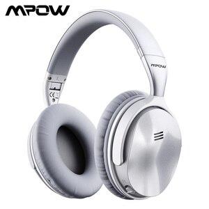 Image 1 - [Versión actualizada] auriculares Bluetooth Mpow H5 originales con cancelación activa de ruido auriculares inalámbricos con micrófono para PC iPhone Xiaomi