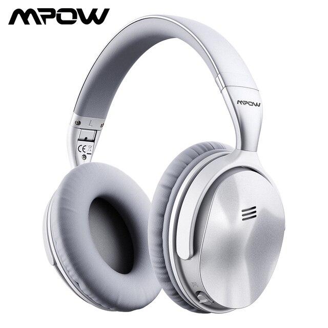 [Versione di Aggiornamento] Originale Mpow H5 Cuffia Bluetooth Attivo con Cancellazione Del Rumore Cuffie Senza Fili con Il Mic per Il Pc Iphone Xiaomi