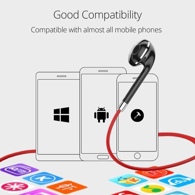 FONKEN BT313 Bluetooth Earphone in ear Wireless Earphones Magnetic Sport Ear Phones with Mic Mobile Bluetooth in-ear Earbuds