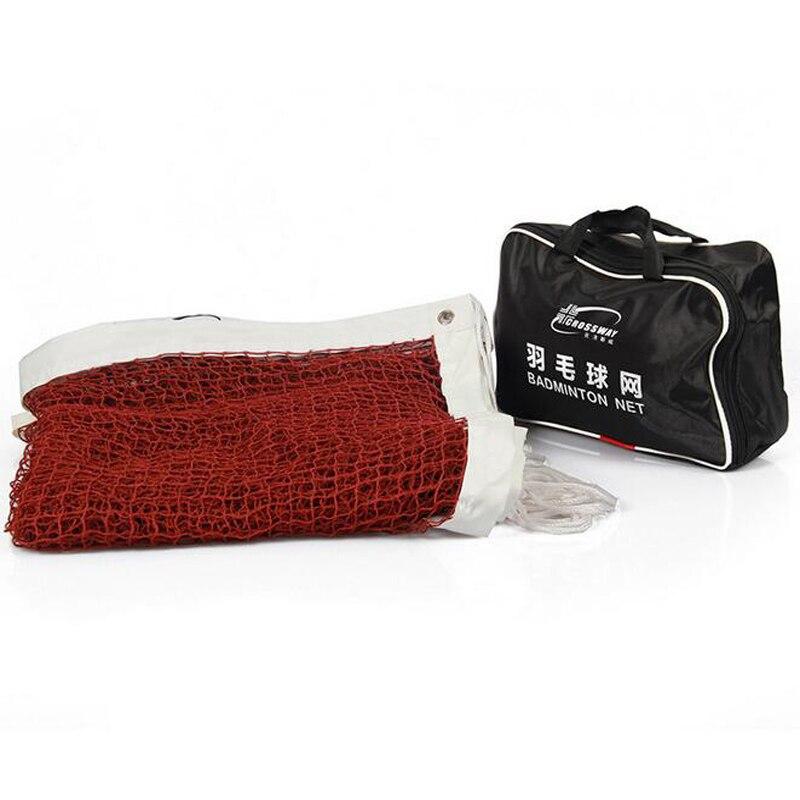 CROSSWAY Стандартный Бадминтон net 6.1*0.76 м профессиональной подготовки квадратной сетки с сумка спортивная Training Инструменты ...