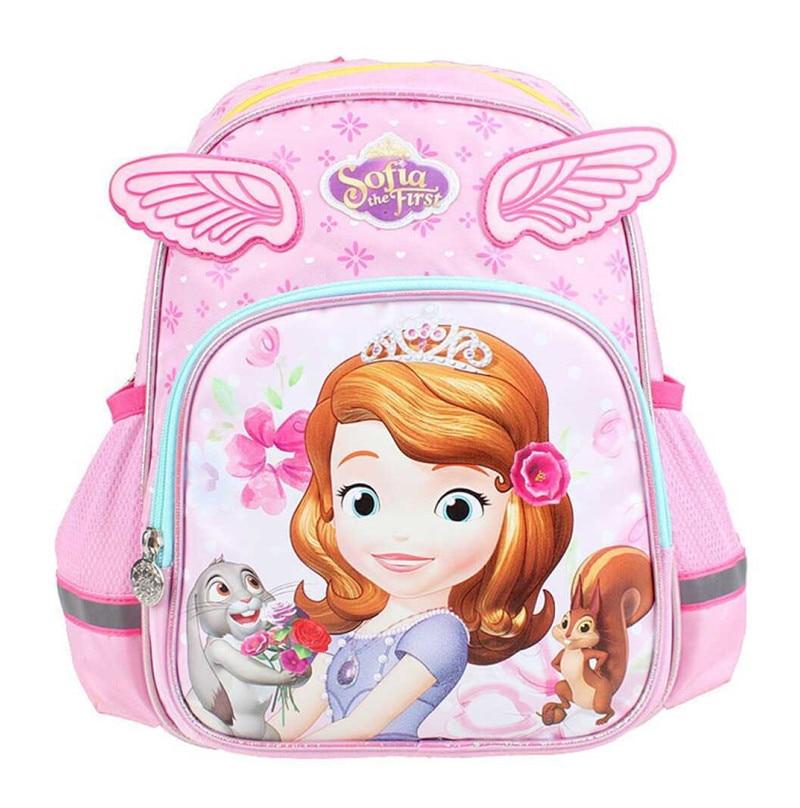 Detail Feedback Questions about Cute Cartoon Princess Sofia The First Wings Bag  Kindergarten Preschool Backpacks Kids Schoolbag Children School Bags for ... 7239ee82acda7