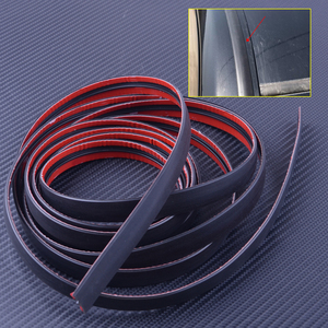 Image 1 - 3M 118inch Car Door Seal Strip Front Rear Windshield Sunroof Weatherstrip Edge Protector Trim Rubber Anti Scratch Strip