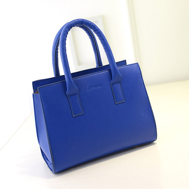 women leather handbags crossbody tote bags over shoulder European and American solid ladies bolsas Panelled zipper fashion