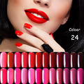 Hot Sell 1Pcs Nail Gel Polish Gel Long-lasting Shining Colorful Soak-off Gel Nail LED UV 5ml Hot Nail Gel 24 Colors Choose