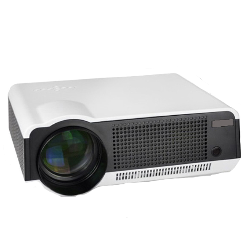 WZATCO Full HD 5500Lumens home theater game portable LED USB Projector HDMI 1080p supported Projetor proyector