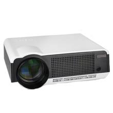 WZATCO Full HD 5500 Lúmenes de cine en casa de videojuegos portátil USB LED proyector beamer Projetor Proyector HDMI 1080 p apoyado