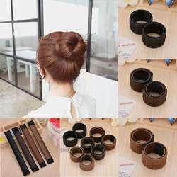 1 шт.. Волшебные волосы для укладки волос Multi function волосы пончик для девочек аксессуары для волос французский Твист Магия DIY аксессуар для